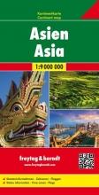 , Asien, Kontinentkarte 1:9 000 000