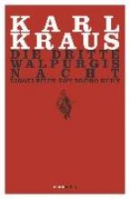 Kraus, Karl Die dritte Walpurgisnacht