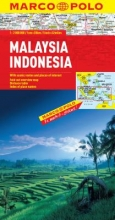 Malaysia, Indonesia Map