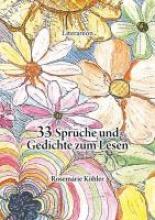 Köhler, Rosemarie 33 Sprche und Gedichte zum Lesen