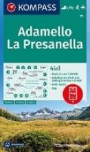 , Adamello, La Presanella 1:50 000