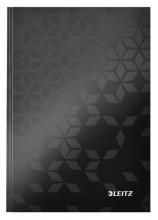 , Notitieboek Leitz WOW A5 lijn zwart