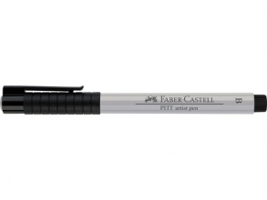 Fc-167430 Faber-castell tekenstift pitt artist pen brush cold grey i 230