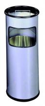 , As-papierbak Durable 3330-23 rond zilver metallic