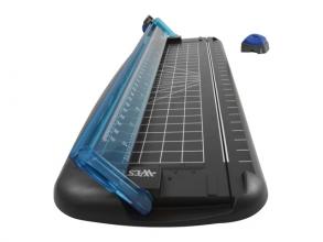 , rolsnijder Westcott 30 cm zwart/blauw