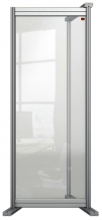 , Bureauscherm uitbreidingspaneel Nobo Modulair transparant acryl 400x1000mm