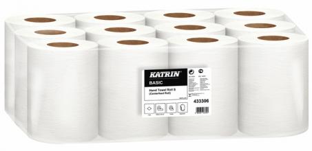 , Handdoekrol Katrin 433306 Centerfeed S 1laags 18cmx100m