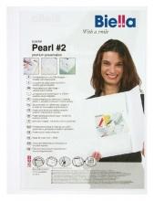 , Offertemap pearl 2 + insteektas 3 flappen wit