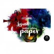 , Tekenpapier Talens Ecoline A3 wit