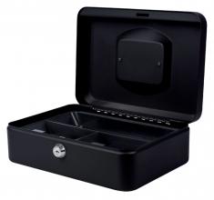 , Geldkist Pavo 250x180x90mm zwart