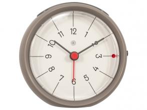 , Alarmklok nXt Otto Ø 9,5 x 3.8 cm grijs