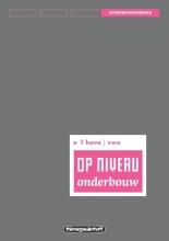 Kraaijeveld Op niveau 1 havo/vwo Uitwerkingenboek/Lineair