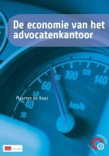 Maarten de Haas De economie van het advocatenkantoor