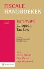 , European Tax Law Vol 1 General Topics and Direct Taxation