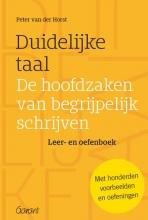 Peter van der Horst , Duidelijke taal -