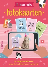 Fotokaarten - I love cats