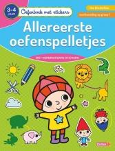 ZNU , Oefenboek met stickers - Allereerste oefenspelletjes (3-4 j.)