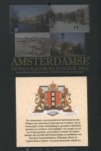 Amsterdamse spreukenkalender  2013