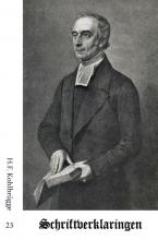 H.F.  Kohlbrügge Schriftverklaringen 23