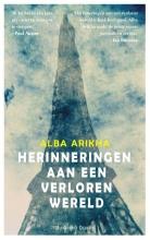 Alba  Arikha Herinneringen aan een verloren wereld