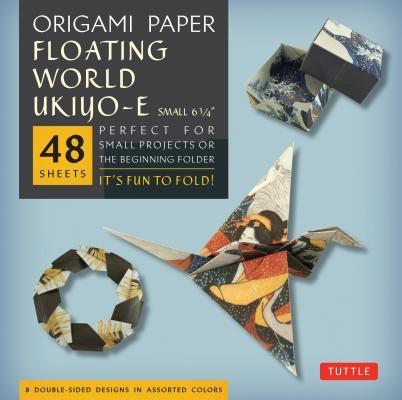 Tuttle,Origami Paper Floating World Ukiyo-e (small)