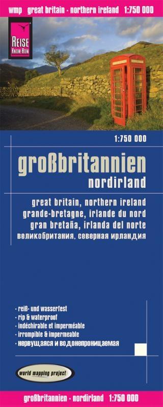 ,Reise Know-How Landkarte Großbritannien 1 : 750 000