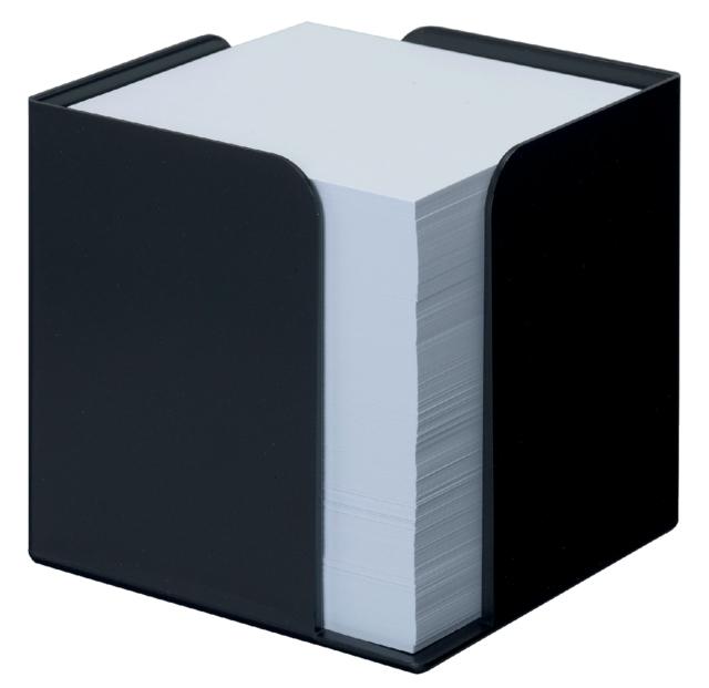,Memokubus Jalema Re-Solution 95x95x95mm + 700vel zwart