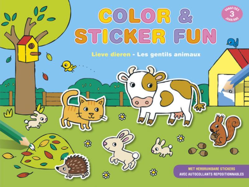 ,Color & Sticker fun