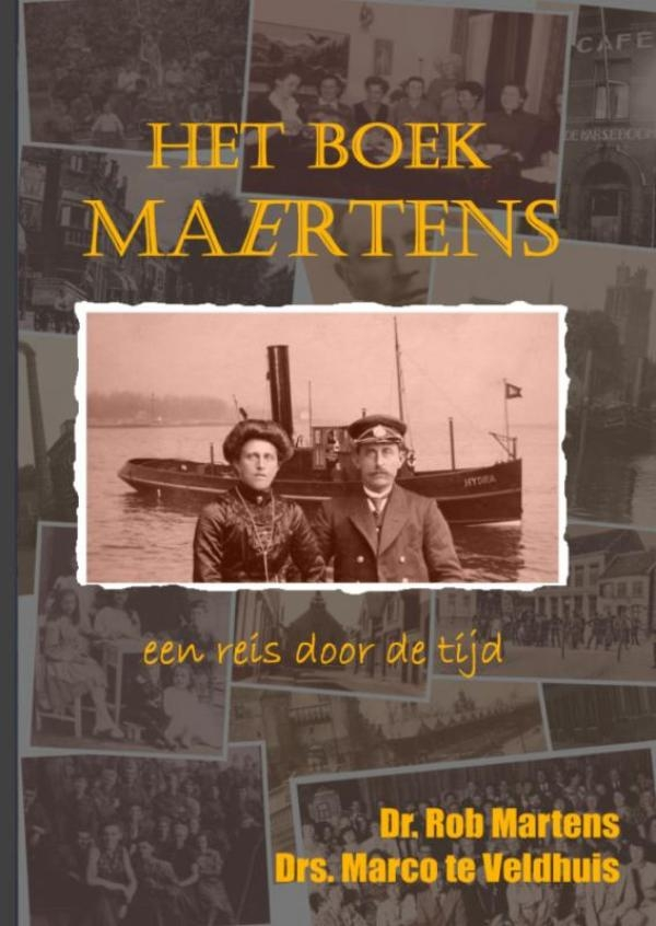 Rob Martens Marco te Veldhuis,Het boek Maertens