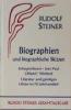 Steiner, Rudolf,Biographien und biographische Skizzen 1894 - 1905