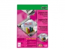 ,laserfolie Sigel transparant A4 voor kleurenprinters 50 vel