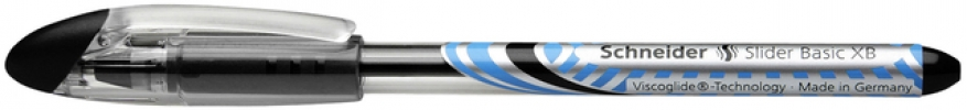 S-151201 ,Rollerpen Schneider Slider Xb Zwart 1.4mm