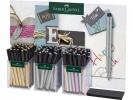 ,display FC Pitt Artist Pen    Metallic 3 kokers 90 stuks  indian inkt                     30x goud 30x zilver  10x koper