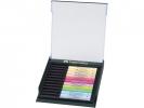 ,tekenstift Faber Castell Pitt Artist Pen Brush set 12 stuks pastel