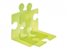 ,boekensteun HAN Puzzle set a 2 stuks signal groen