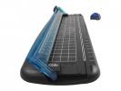 ,rolsnijder Westcott 30 cm zwart/blauw