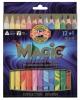 ,Kleurpotloden Koh-i-Noor Jumbo Magic doos 13 kleuren