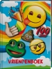 ,VRIENDENBOEK EMOJI RAINBOW/3X8.95 - FSC MIX CREDIT