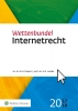 A.R.  Lodder,Wettenbundel Internetrecht  2017-2018