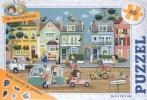 ,De verstopstraat - puzzel 48 stukjes