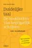 Peter van der Horst,Duidelijke taal -