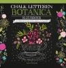 ,<b>Chalk letteren Botanica kleurboek</b>