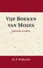 Franz Delitzsch, J.J. van Toorenenbergen,Kritische Studi?n over de Vijf Boeken van Mozes
