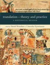 Weissbort, Daniel Translation - Theory and Practice