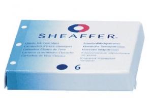 , Inktpatroon Sheaffer Classic blauw/zwart