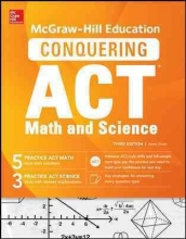 Dulan, Steven W. McGraw-Hill Education`s Conquering the Act Math and Science