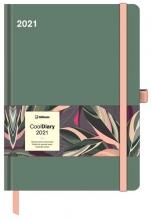, Agenda 2021 cool diary 16x22 sage green