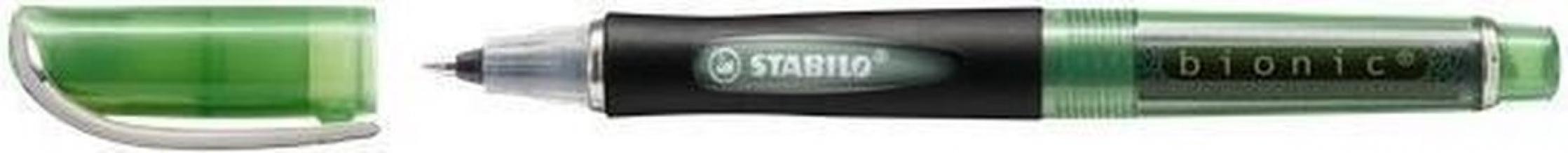 , Rollerpen STABILO Bionic groen