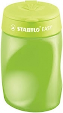, Puntenslijper STABILO Easy 4502 3 in 1 rechtshandig groen