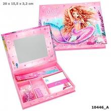 10446 a Fantasymodel doos met schrijf waren mermaid